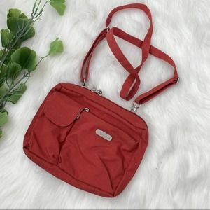 Baggallini | Red Crossbody Travel Bag Organized